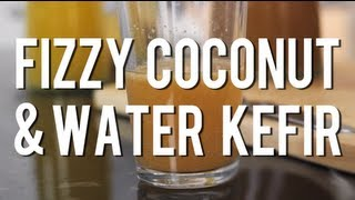 The Raw Chef TV | Fizzy coconut & water kefir raw food recipe