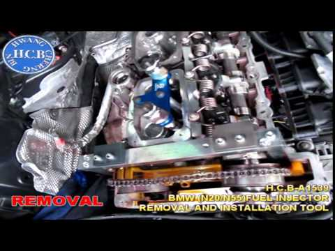 H C B A1539 Bmw N20 N55 Fuel Injector Removal And