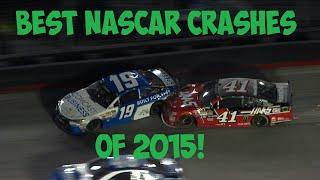 Best NASCAR Crashes of 2015 (HD)