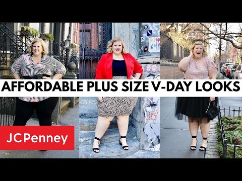 Plus Size Valentines Day Lookbook 2019 | JCPenney