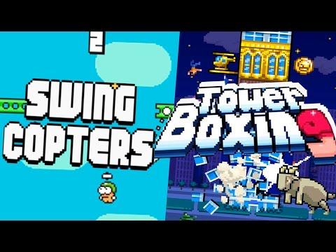 Swing Copters Boxing - Во что поиграть на уроках? Сравнения