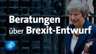 EU und Großbritannien beraten über Brexit-Entwurf