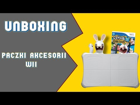 Unboxing Akcesorii Do Wii