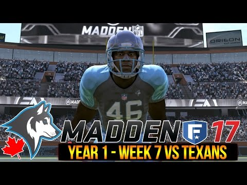 Alabama Could Beat Me | Madden 17 Expansion Franchise | Huskies vs Texans | Ep. 8