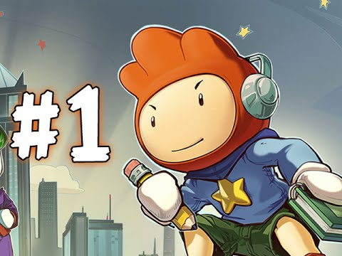 SCRIBBLENAUTS UNMASKED - PART 1 - I AM MAXWELL!