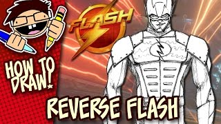 How to Draw REVERSE FLASH (The FLASH TV Series) Easy Step-by-Step Tutorial
