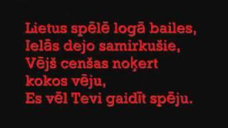 Tumsa - Draugs lyrics