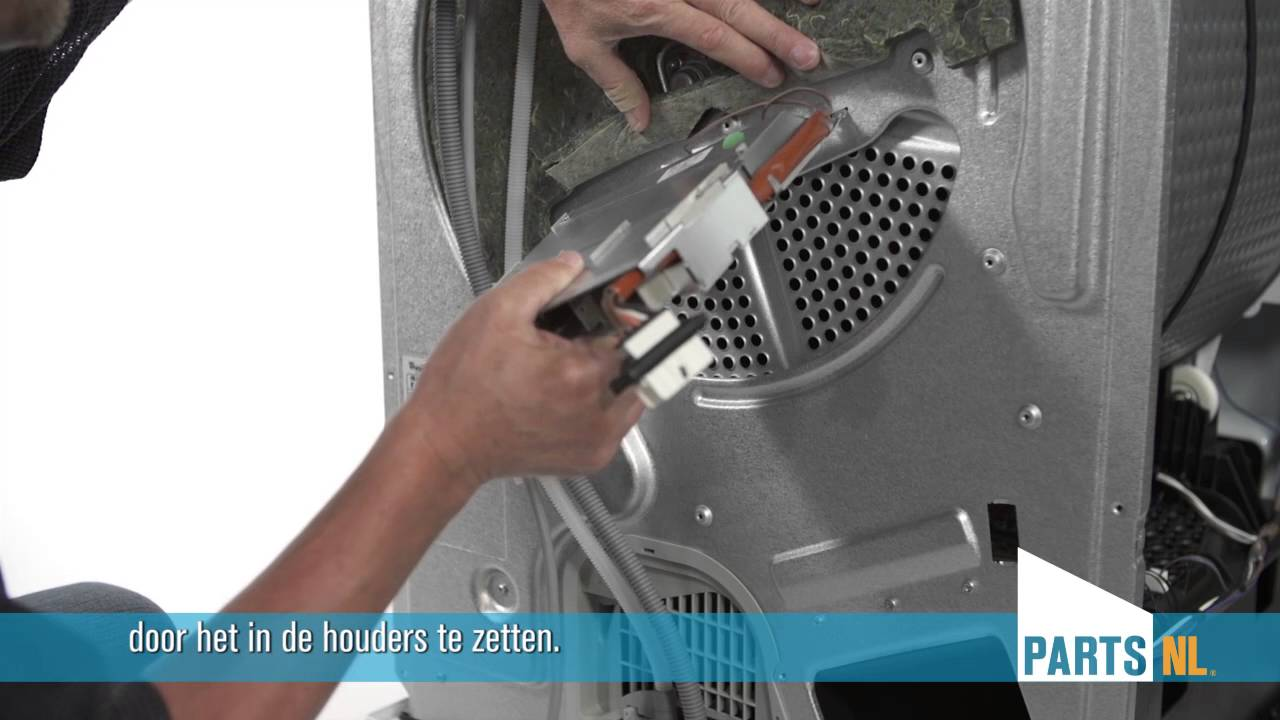 Verwarmingselement vervangen van droger partsnl uitleg for Sensor schoonmaken