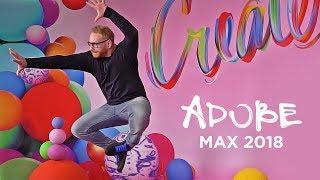 Attending Adobe MAX 2018 in Los Angeles!