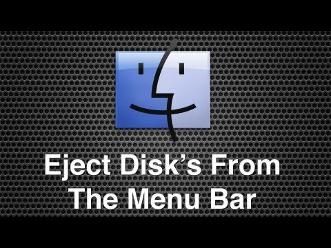how to eject disc from imac manually