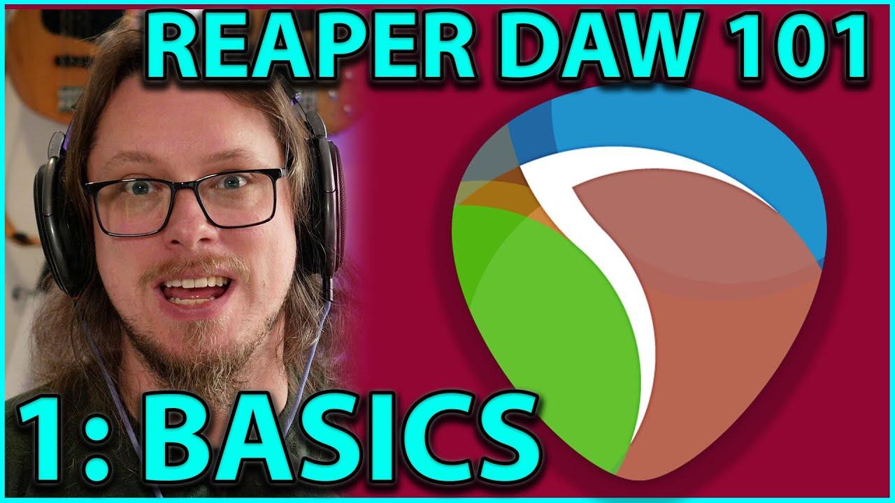 Download Reaper DAW 101:- The Basics - PART 1