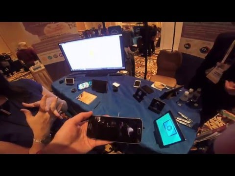 Immersion Haptic Technology Demo at Pepcom
