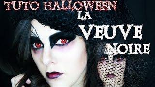 {TUTO #3} - 🎃 Maquillage Halloween - La Veuve Noire 🎃
