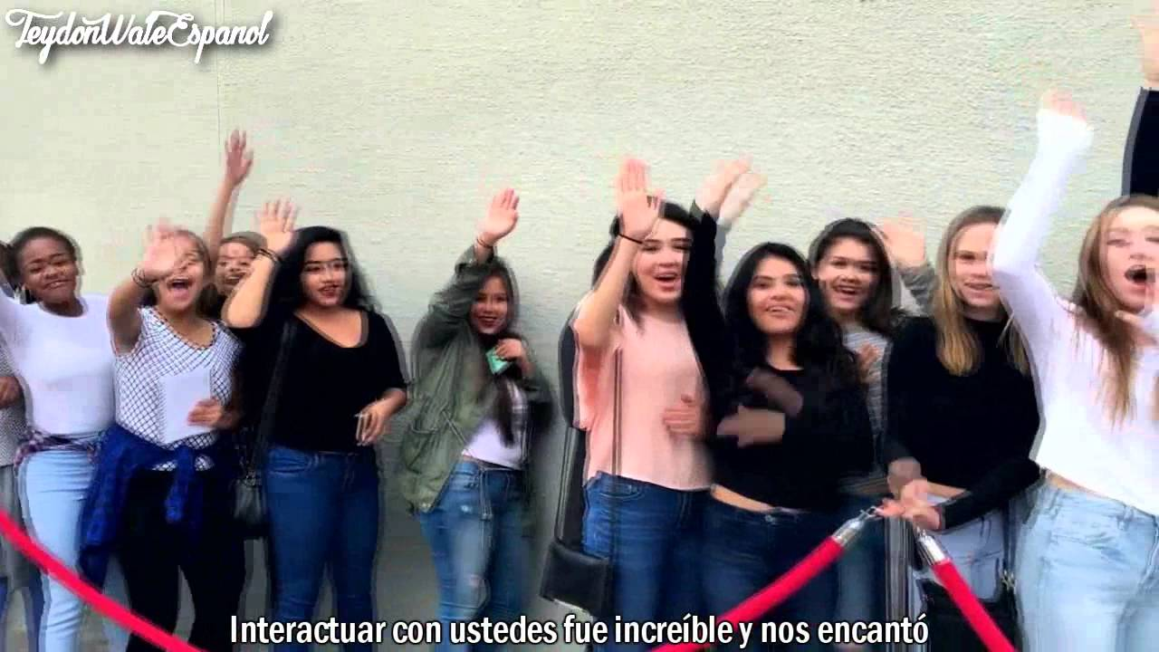 Chat with hayes meet and greet subtitulado en espaol hayes grier chat with hayes meet and greet subtitulado en espaol hayes grier kristyandbryce Images