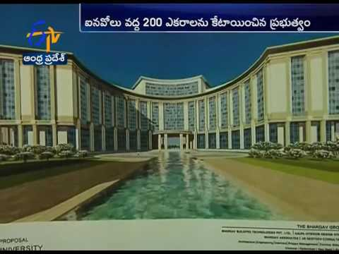 Laying Stone VIT University  in Amaravati Tomorrow