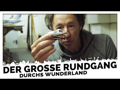 Gerrit führt durchs leere Wunderland - 40 Minuten Führung - Miniatur Wunderland