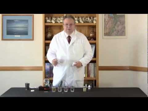 Light Bulb Demonstration Shows Mineral Conductivity