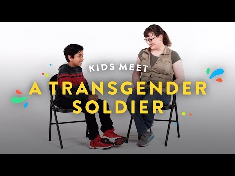 Kids Meet a Transgender Soldier | Kids Meet | HiHo Kids