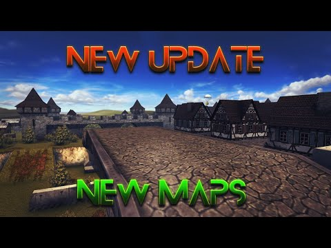 TankiOnline - Maps update  / Yorkshire map ! ( New year 2017 map)
