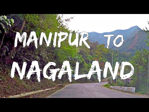 Imphal (Manipur) To Kohima (Nagaland) By Bus HD