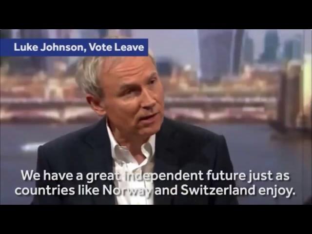 James OBrien vs leaving the single market