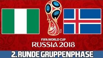 NIGERIA : ISLAND | 2. Runde Gruppenphase | FIFA WM 2018 Prognose