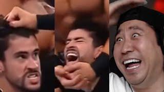Mejores momentos de Bad Bunny en WWE 😂 Mi reacción 🤣