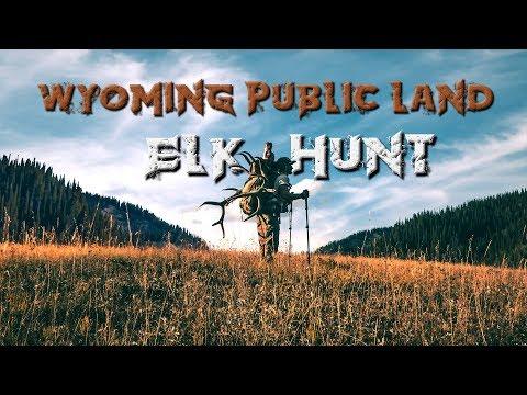 6X6 BULL! Wyoming Public Land DIY Elk Hunt | 2019 | #elkhunting #elk
