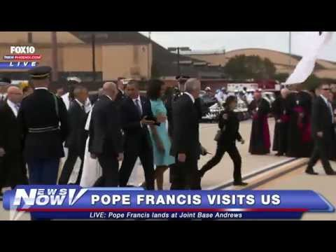 FNN: Pope Francis Arrives in Washington D.C.