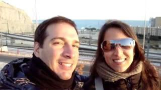 El maravilloso poner del sol en Alicante!