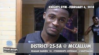Fanstand '18: Reagan Raiders Basketball Mixtape (@ McCallum) thumbnail