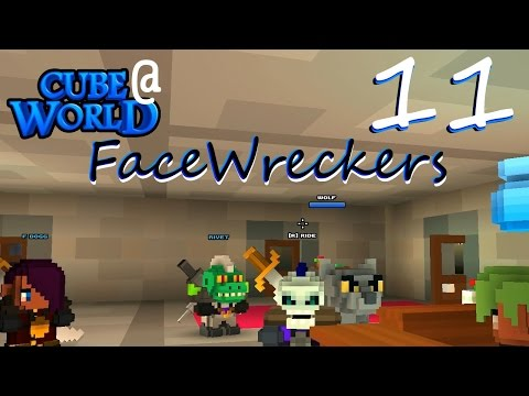 FaceWreckers - 11 - Bittersweet Reunion - Alpha Gameplay Multiplayer Cubeworld LP