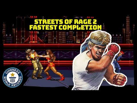 Fastest completion of Street of Rage 2 (Max on Mania difficulty) - Guinness World Records