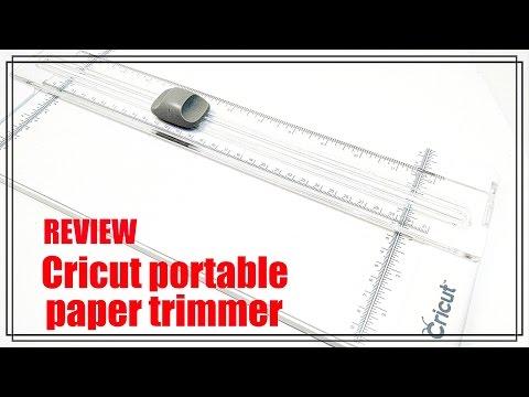 """Cricut 12"""" Portable Paper Trimmer Review"""