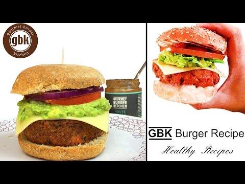 GBK Burger Recipe | Gourmet Burger Kitchen | How To Make GBK Burger