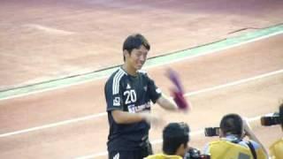 2010年10月3日に国立競技場で行なわれたリーグ第25節 、FC東京vs湘南ベ...