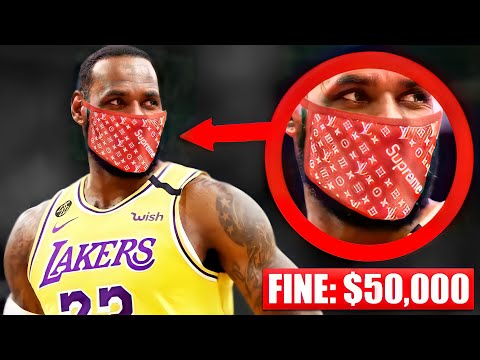 BANNED Accessories In The NBA Next Season