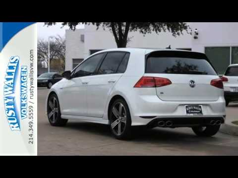 New 2016 Volkswagen Golf R Dallas TX Garland, TX #V160335 - SOLD