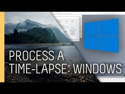 free software to make time lapse video