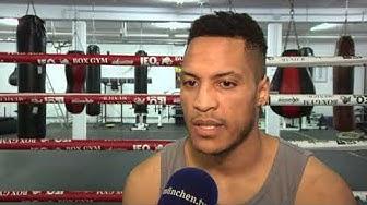 """Münchner Mittelgewichtsboxer - Hector """"Uwel"""" Hernandez"""