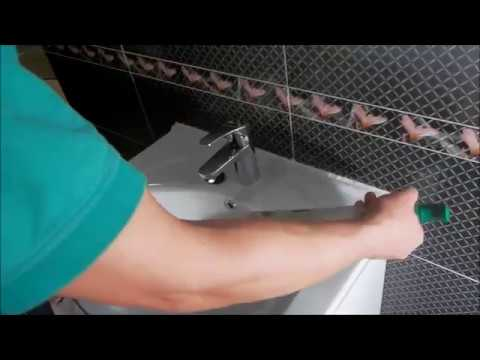 how to silicone a bathroom sink