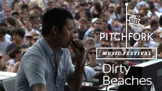 "Dirty Beaches performs ""A Hundred Highways"" at Pitchfork Music Festival 2012"