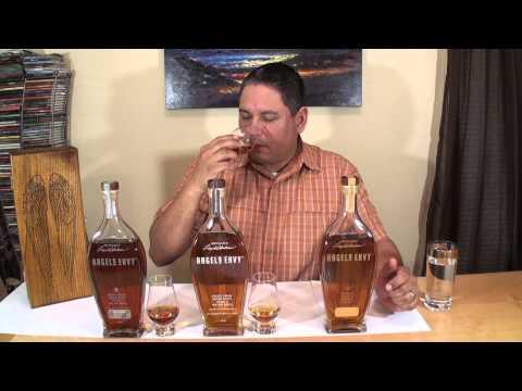 Angel's Envy Port Finished Bourbon, Cask Strength Bourbon & Caribbean Rum Cask Finished Rye Whiskey