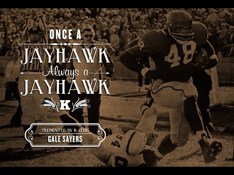 Once A Jayhawk // Gale Sayers