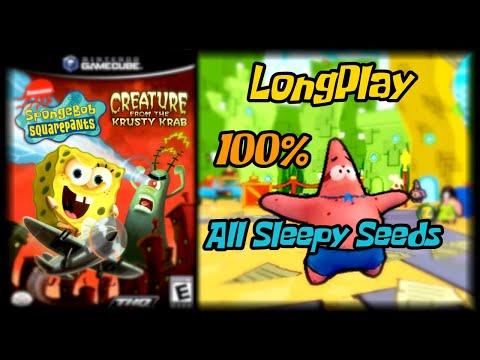 SpongeBob SquarePants: Creature from the Krusty Krab - Longplay 100% (All Sleepy Seeds) Walkthrough