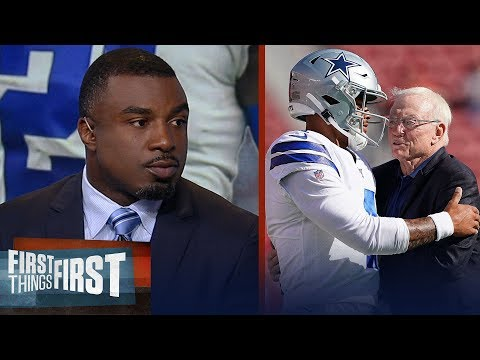 Dak's inability to carry Cowboys without Zeke should impact contract Westbrook | FIRST THINGS FIRST