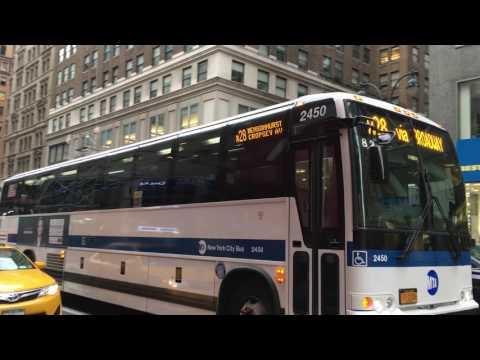 MTA New York City Bus 2011 Prevost X345 Commuter Coach 2450