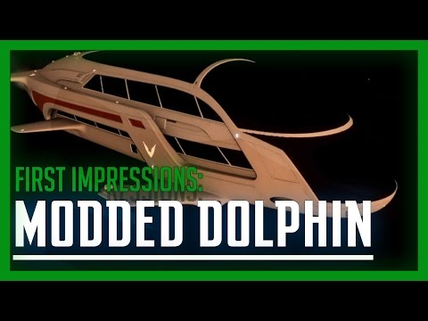Elite: Dangerous - Modded Dolphin