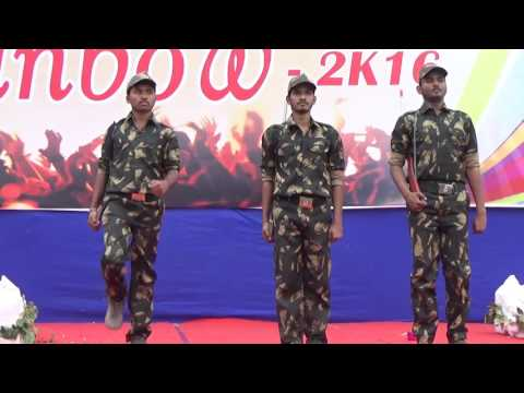 Indian Army Drama (Standing Ovation Emotional  Performed In College)
