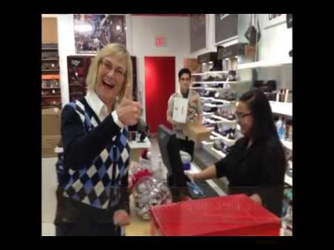 Stella Stevens Drags Jackie Rae Shoe Shopping